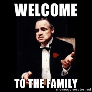 Godfather welcomes you